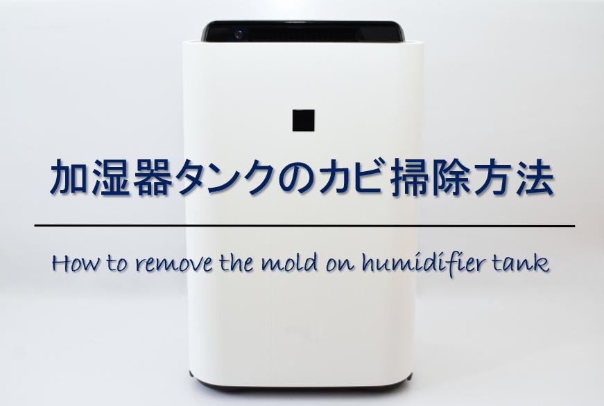 【加湿器タンクのカビ掃除方法】中まで手が届かない!おすすめカビ取り方法を紹介!