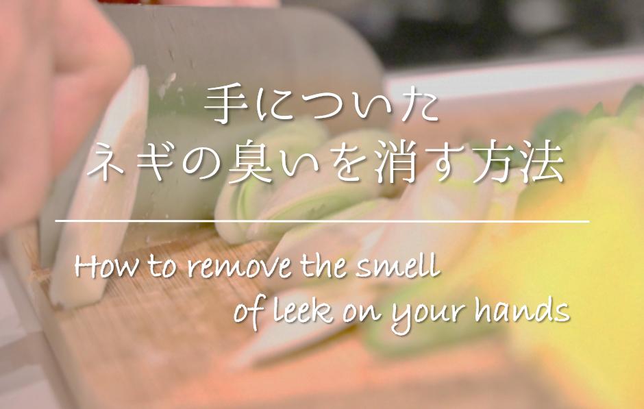 【手についたネギの臭いを消す方法】簡単!!頑固な臭いを取る方法を紹介